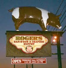 Roger's BBQ logo